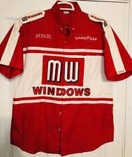 Terry Labonte MW WINDOWS Nascar Busch Pit Crew Shirt Simpson Racing Chevy LG