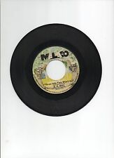 "Z Z HILL 7"" VG+ 45 MALACO #2097 1984 THREE INTO TWO WONT GO SOUL R&B BLUES"