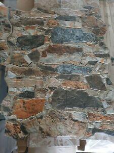 Steinoptik Fliesen 40x60cm,Bruchsteinoptik Fliesen Feinsteinzeug 4  Farben