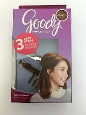 Goody Simple Styles Volume Boost Hair Barrette Brunette Color
