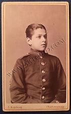 Carte de Visite, MAJOR FELIX VON ARNIM GERSWALDE, Dragoner Regiment, Adjutant