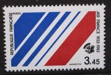 FRANCE 1983 50th Anniversary of Air France. Set of 1. Mint Never Hinged. SG2591.
