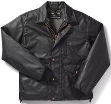 Filson Cover Cloth Aberdeen Work Jacket Blue Coal, Men's XL NWT MSRP $350