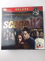 Twilight Saga Scene It Deluxe DVD Board Game Brand New & Sealed