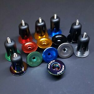 💥 Aluminum CNC Bike Handlebar Bar End Plug Caps Bicycle MTB Road Drop 7 Colors
