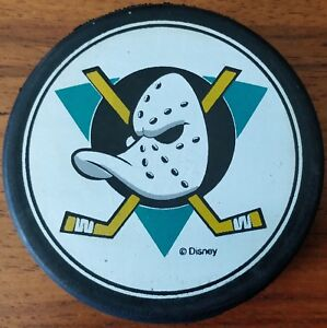 1993-94 Anaheim Mighty Ducks Inaugural Season Puck
