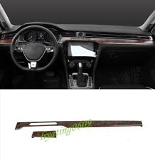 Peach Wood Grain Dashboard Console Cover Trim For VW Passat Variant B8 17-18