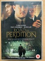 Strada A Perdition DVD 2002 Killer Gangster Crimine Film Classico W/ Tom Hanks
