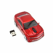 2.4G Chevrolet Car Wireless Mouse Gaming USB Optical Mice for Window Xmas Gift