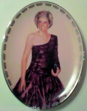 """Royalty Lady Diana Picture Collector Plate """"Radiant Princess"""" With COA Lady Di"""