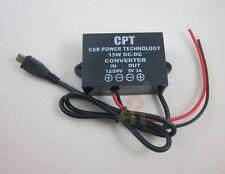 Waterproof 12V/24V to 5V 3A micro USB Converter Regulator Step Down Car power