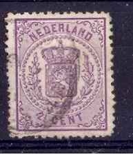 Nederland nr 18   2,5ct wapenzegel gebruikt/used  100%