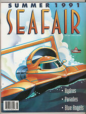 1991 Seafair Rainier Cup Hydroplane Race Program
