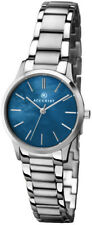 Accurist 8100 All Stainless Steel Blue Mother of Pearl Dial 2Yr Guar RRP £79.99