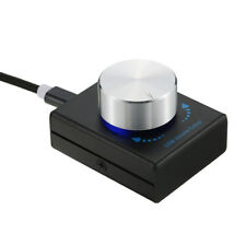 Mini USB Volume Control Knob Audio Adjuster with USB Cable for PC Speaker T9U0