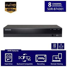 Samsung SDR-B74301 8 Channel Full HD 1080P cctv DVR with 2TB Hard Drive New!!!
