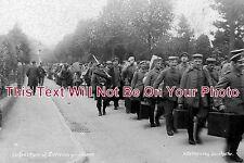 DO 137 - Departure Of German WW1 POW Prisoners, Dorchester, Dorset - 6x4 Photo