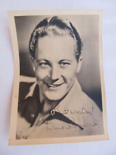 "Vintage Gene Raymond Autograph Signed 5"" x 7"" Photograph Actor Piano Vocalist"