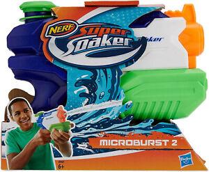 Hasbro Nerf Super Soaker A9461 Microburst II Wasserpistole