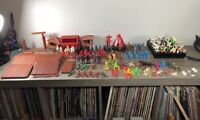 Fort Apache Wild West Vintage playset toy Marx w/ lots of extras!
