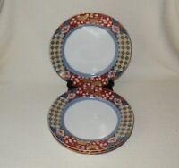Smithsonian Institution Imari Japanese Porcelain Dinner Plates (4)