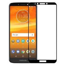 For Motorola Moto E5 plus 3D Premium 0,3 Mm H9 Tempered Glass Black