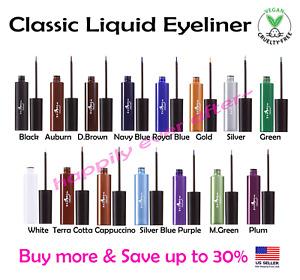 Italia Deluxe Waterproof Liquid Eyeliner - Vitamin E & Long Lasting Eyeliners!