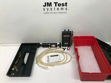 Dwyer Digital Manometer Series 477-3-FM and Model A-396A Calibration Pump Kit BR
