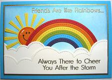 Handmade Card - Friends Are Like Rainbows....
