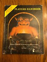 VG Player's Handbook Adv Dungeons & Dragons 1st Ed 7th printing 1980