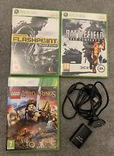 Xbox 360 Spielepaket-Flashpoint, Spiel, Lego LOTR; Plus Plug & Play