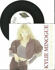 """Kylie Minogue, I should be so lucky, VG/VG  7"""" Single 999-590"""