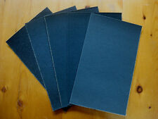 5 Sheets Wet or Dry Sandpaper - Fine Assortment - 230mm x 140mm approx