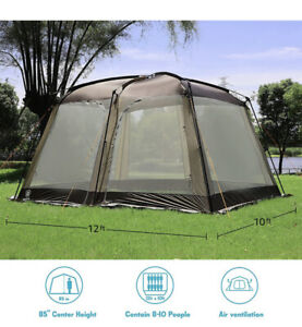 EVER ADVANCED Screen House Room Outdoor Screened in Canopy for Camping