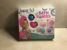 Alex Spa D.I.Y. Bath Bombs Create 6 Fizzy Bath Bombs (Brand New)