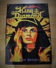 King Diamond - Fatal Portrait FLAG Ozzy Attic Dio Metallica Mercyful Fate Kiss