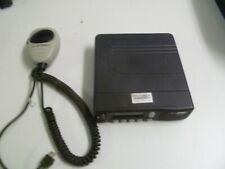 Motorola Mcs2000 800 Mhz Two Way Radio w Hand Microphone M01Ugl6Pw4An