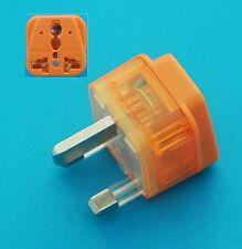 USA EU AUS to UK HK Singapore Universal Travel Adapter  AC Power Plug + Surge