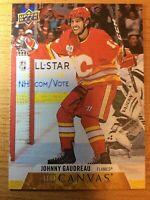 UD 2020-2021 JOHNNY GAUDREAU CANVAS HOCKEY CARD C-11 CALGARY FLAMES