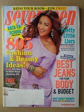 SEVENTEEN magazine Aug 2012 PRETTY LITTLE LIARS Shay Mitchell-SHAILENE WOODLEY