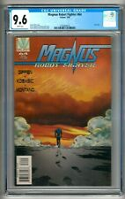 """Magnus Robot Fighter #64 (1996) CGC 9.6  White Pages  Giffen   """"Last"""" Issue"""