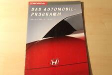 00506) Honda Civic CRX Accard Prelude Legend Prospekt 03/1993