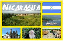NICARAGUA - RECUERDO ORIGINAL Imán de NEVERA - MONUMENTOS/Ciudades - - REGALOS