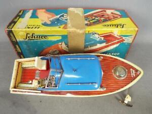 Schuco Elektro Nautico 5550 Battery Operated Model Boat in Original Box