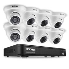 8CAM Security Camera System 720P Wireless DVR Kit HD IR WIFI CCTV Outdoor/Indoor