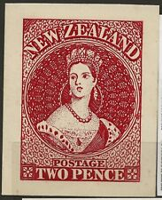REPRODUCTION OF NEW ZEALAND 2 PENCE QUEEN VISTORIA STAMP--ON CARD-72