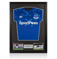 Framed Wayne Rooney Signed Everton Shirt 2019-20 Autograph Jersey