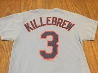 Harmon Killebrew Minnesota Twins Powder Blue Small T Shirt MLB Majestic