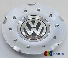 "NEW GENUINE VW GOLF MK5 17"" ALLOY WHEEL CENTRE CAP CHROME BLACK 1K0601149C RGM"