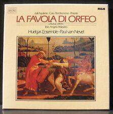 La Favola di Orfeo  Paul van Nevel Huelgas 1981  2 x LP M, BX NM